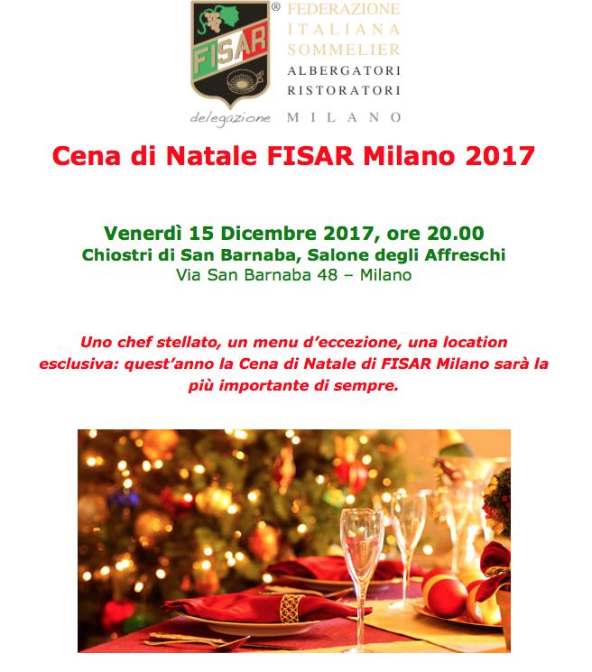 Cena Natale 2017 Fisar Milano - Reportage di Massimo Demelas
