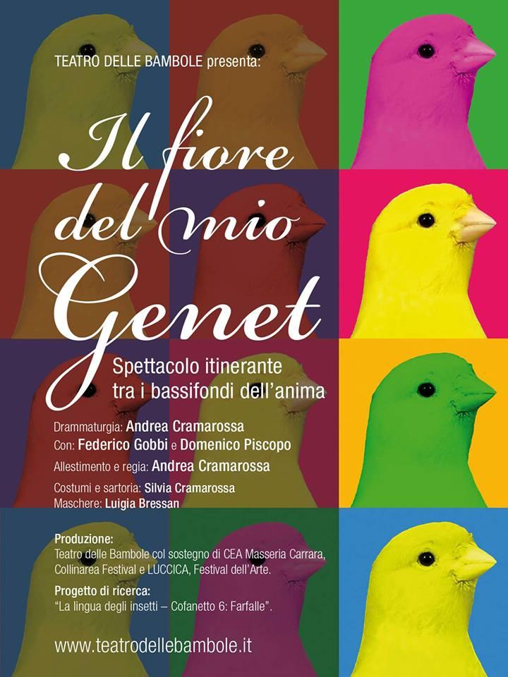 Il fiore del mio Genet - Teatro Avirex Tertulliano