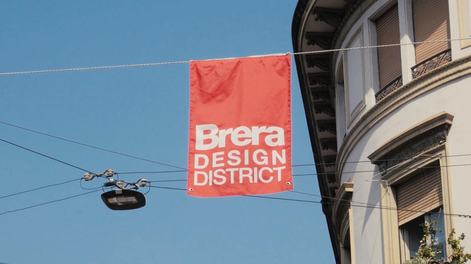 Brera in 1 minuto: raccontare il quartiere di Brera durante il Fuorisalone